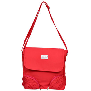 Sms Red Hand Bag