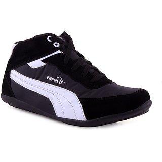 Shooz Mens Black & White Shoes
