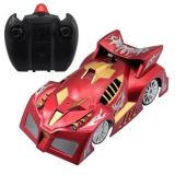 Wall Climbing Car Rc With Lazer Light Left Right Turn Gift Toy