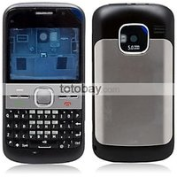 REPLACEMENT FASCIA FACEPLATE PANEL HOUSING FOR NOKIA E5-00 BLACK