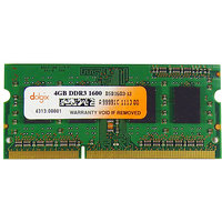 4GB DDR3 1600MHz DOLGIX Laptop RAM