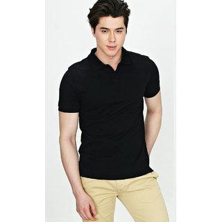 Premium PoloT-Shirt Black American