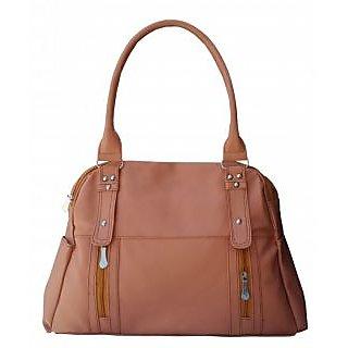 maayas Stylish beige color Handbag myshb-12