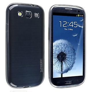 Magpie Transparent Soft Back Cover For Samsung S3/S3 Neo