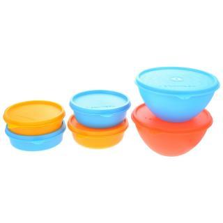 Herware Kitchen Storage Airtight Container Microwave/Fridge Safe Lunch Tifin