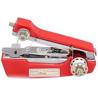 Mini Portable Hand Sewing Machine-Stapler Model Red