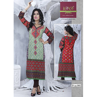 Designer Deal Ethnic stylish new fancy tunic trendy brande latest arrival  Kurti