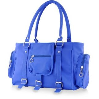 Chhavi Blue Plain Formal Handbag