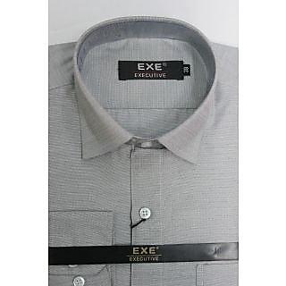 Exe Grey Full Sleeve Men's Shirt (Design 2)