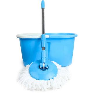 Pede Milan Steel Mop Set Blue