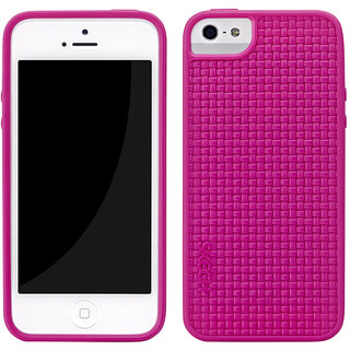 Skech GripShock Case With  Screen Guard for iPhone 5 - Pink