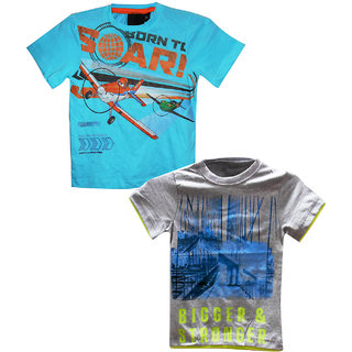 Awesome Kidz Pack of 2 Bio Washed Tees