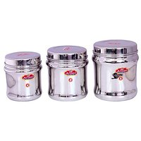 Aristo Steel Kitchen Container 3 Pcs Sets 750Ml-1500Ml Vr611