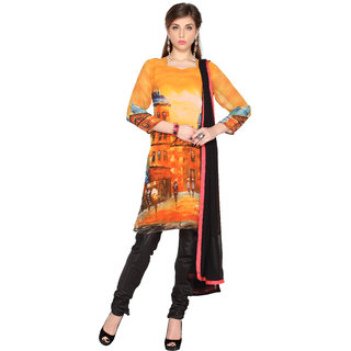 Multi Color Digital Printed Unstitched salwar suit with dupatta (20094)