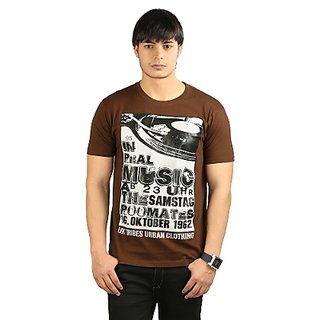 Men's T Shirt - Brown