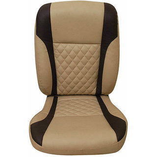 shop leatherite seat cover for renault duster online shopclues. Black Bedroom Furniture Sets. Home Design Ideas
