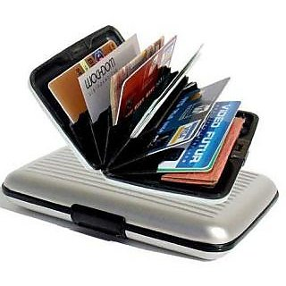 Dass Credit card silver colour wallet