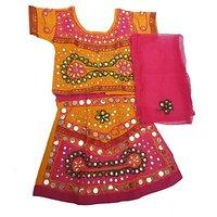Indo Radha Designer Lehnga Choli For Kids(0 To 5 Years)
