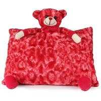 Deals India Red Teddy Pillow - 40 Cm