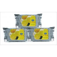 Ginni Cleansing Makeup Removal Wipes-Lemon3 Pack( 30 Pieces Per Packet)