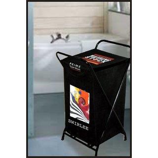 Laundry Bag Swirlee With Steel Frame & Designer Printed