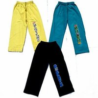 3 ChildrenS Cool Night Trousers Vibrant Color With Best Quality Fabric.