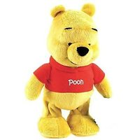 Pooh Bear Walking And Singing Soft Toy With Music