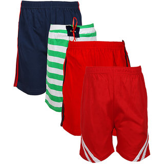 Jazzup Cotton Pack Of 4 Shorts (KZ-RDAC1615)