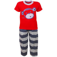 Jazzup Cotton Printed Nightwear (KZ-RDA1521)