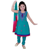 Jazzup Embroidered Girls Suit Set (KZ-KPN1060)