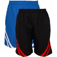Jazzup Cotton Pack Of 2 Shorts (KZ-RDAC1541)