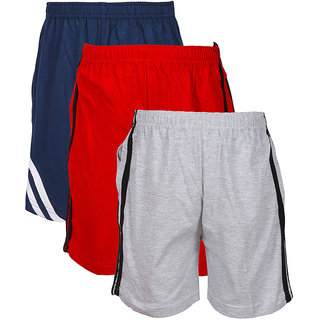 Jazzup Cotton Pack Of 3 Shorts (KZ-RDAC1585)
