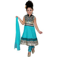 Jazzup Embroidered Girls Suit Set (KZ-KPN1056)