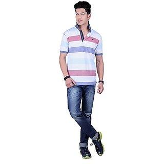 DEUTZ Multi Color Cotton Regular Mens T-Shirt (798)