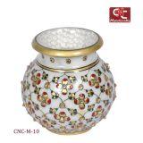 Embellished Jarkan Stone Marble Pot
