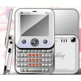 Micromax Q55 Bling White With 2 Mp Camera Opera Mini Mobile Phone En
