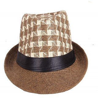 Aggressive Multi Colour Fidora Hat For Men JSMFHCP1234