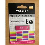 Toshiba 8GB transmemory USB Flash Drive/ Pen Drive