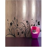 Floral At Wall Decals Style Wall Sticker -GGES035