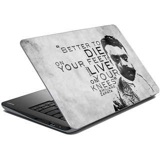 meSleep Quotes Laptop Skin