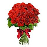 Natural Bunch Of Exotic Red Roses Flowers Gift Dl3flw141