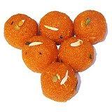 Delicious Jaipuri Motichoor Ladoo Mithai 200gm Dli3swt106