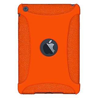 Amzer 94587 Silicone Skin Jelly Case - Orange for Apple iPad mini