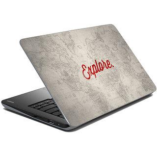 meSleep Quotes Laptop Skin