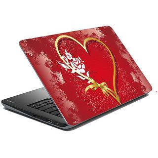 meSleep Red Heart Laptop Skin