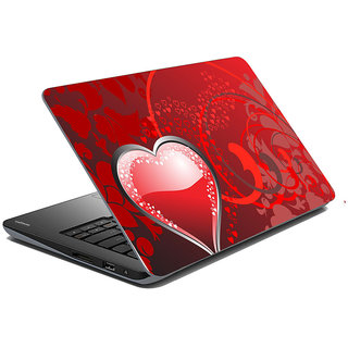 meSleep Red Heart Laptop Skin