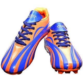 port blue line football shoes
