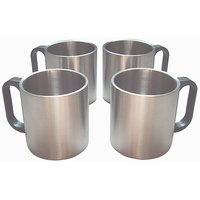 IDeals - Set Of 4 Tea/Coffee Mugs