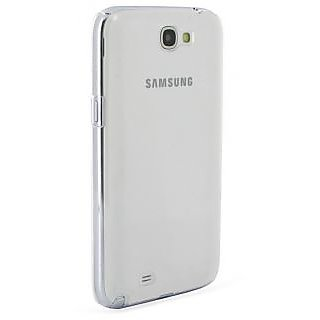 KMS Transparent Back Cover For Samsung Galaxy Note 2 N7100