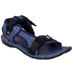 Guardian Mens Blue Velcro Sandals